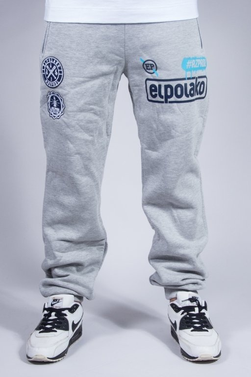 EL POLAKO SWEATPANTS REGULAR RZPRDL MELANGE