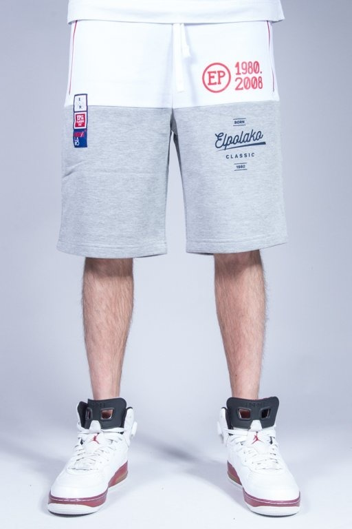 EL POLAKO SWEATSHORTS HALF COLOR MELANGE