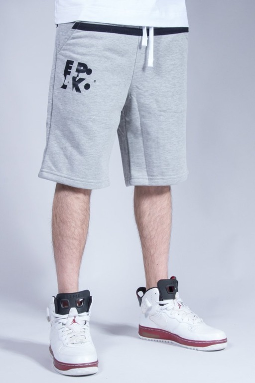 EL POLAKO SWEATSHORTS STRIPES MELANGE