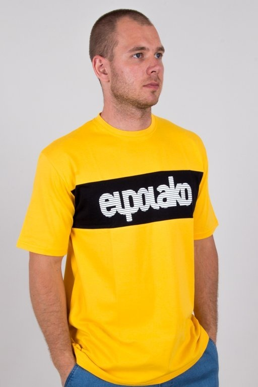 EL POLAKO T-SHIRT ALFABET YELLOW