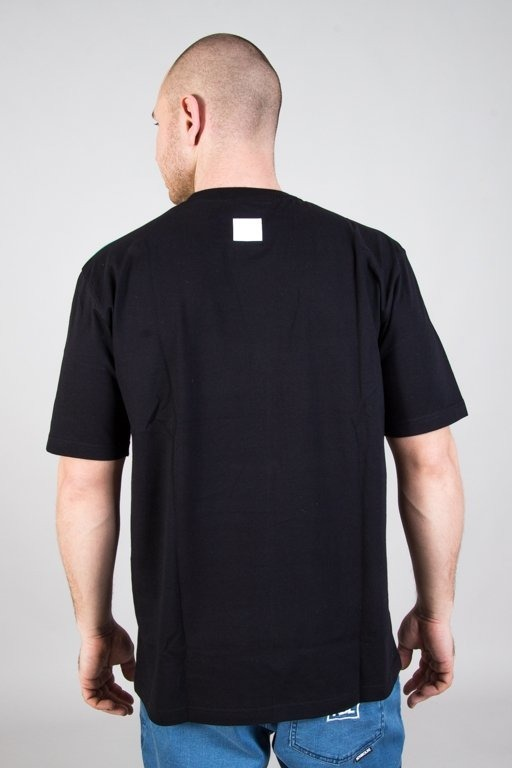 EL POLAKO T-SHIRT COLOR GRADIENT BLACK