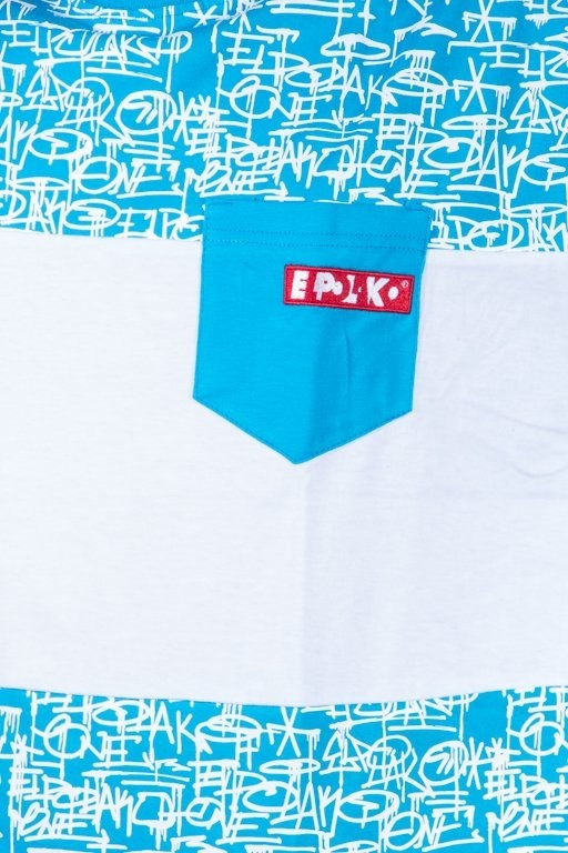 EL POLAKO T-SHIRT TAGS BLUE