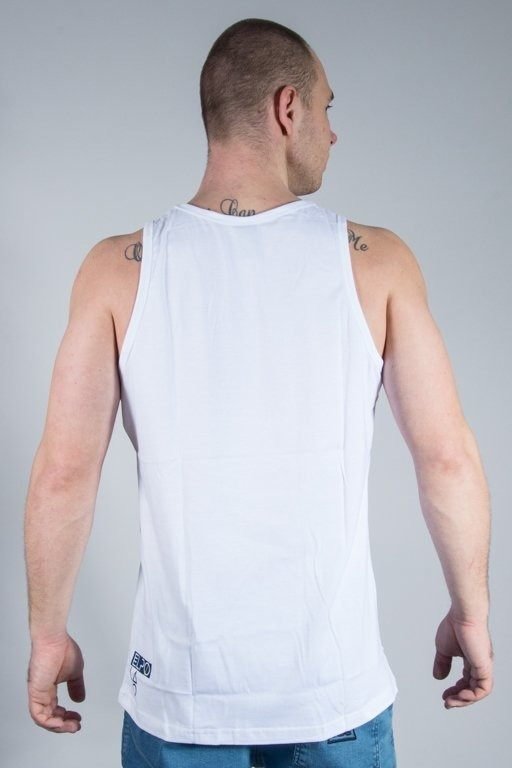 EL POLAKO TANK TOP CHAMPION WHITE