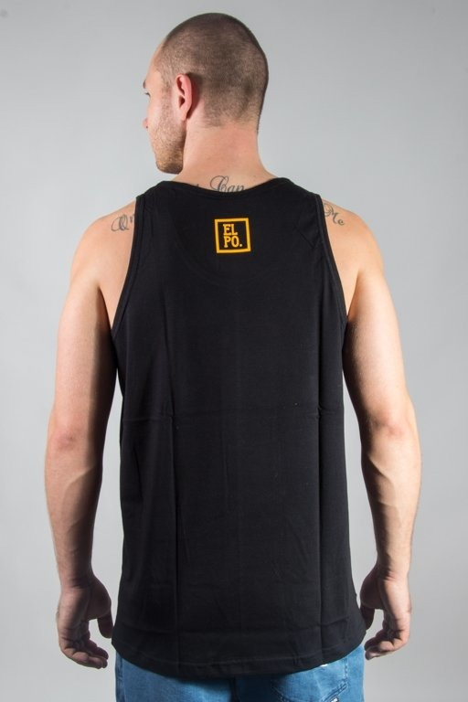 EL POLAKO TANK TOP PLANY BLACK