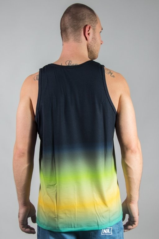 EL POLAKO TANK TOP RAINBOW BLACK