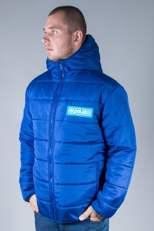 EL POLAKO WINTER JACKET FLYERS NORTH BLUE