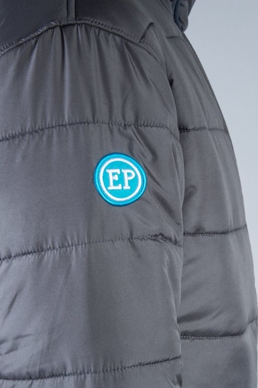 EL POLAKO WINTER JACKET FLYERS NORTH GREY