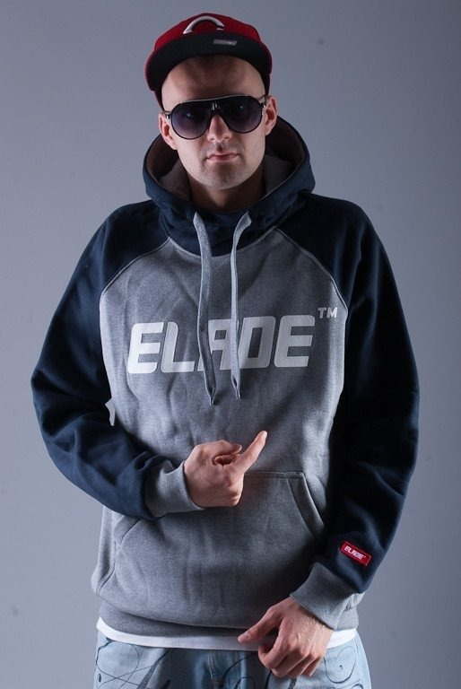 ELADE BLUZA Z KAPTUREM NAME GREY