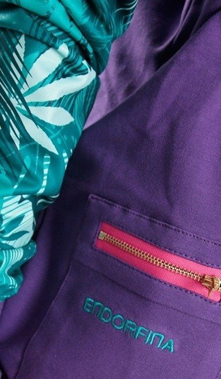 ENDORFINA BLUZA JUNGLE VIOLET