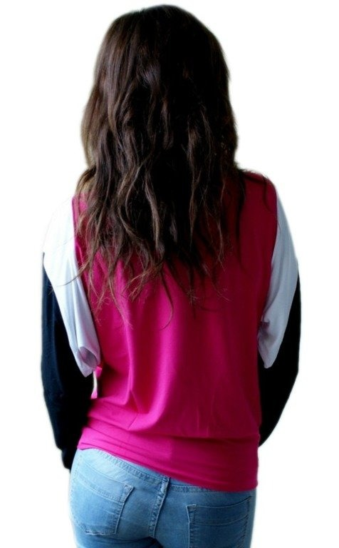 ENDORFINA LONGSLEEVE ARROWS BLACK-PINK