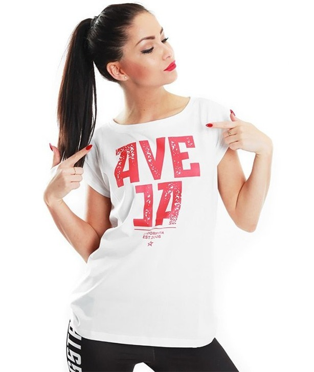 ENDORFINA T-SHIRT AVE JA WHITE