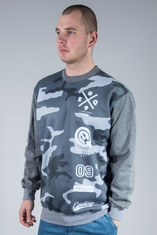 EQUALIZER CREWNECK CAMO GREY