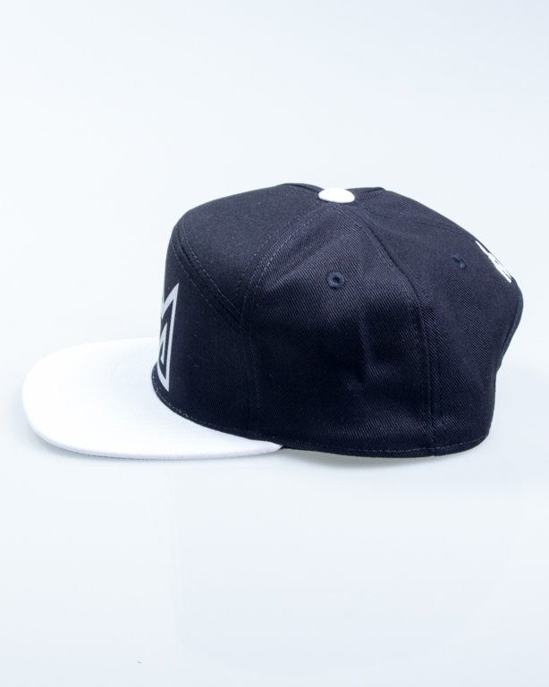 GANJA MAFIA SNAPBACK CROWN BLACK
