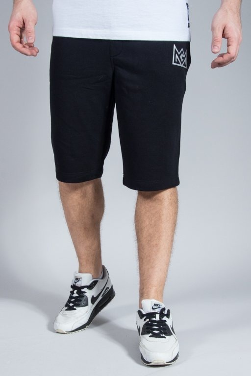 GANJA MAFIA SWEATSHORTS CROWN BLACK