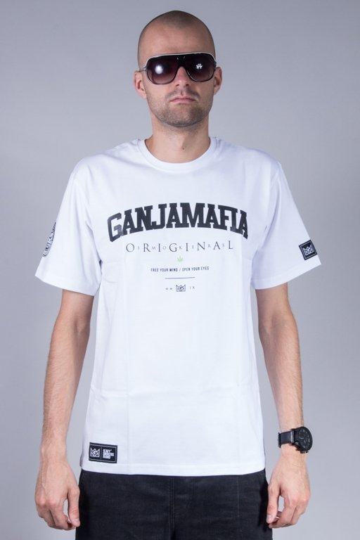GANJA MAFIA T-SHIRT ORIGINAL WHITE
