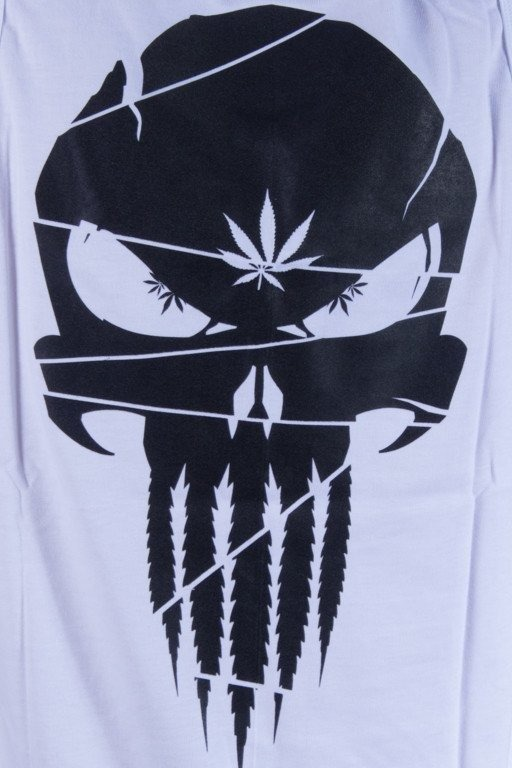 GANJA MAFIA TANK TOP CANNABISHER WHITE