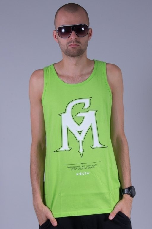 GANJA MAFIA TANK TOP GM COLOR GREEN