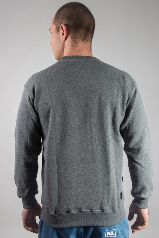 GRUBE LOLO CREWNECK DOUBLE JOINTS GREY