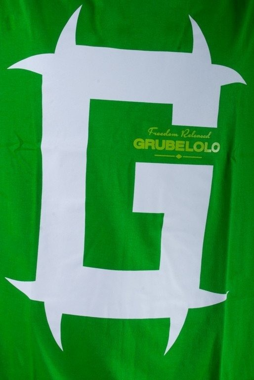 GRUBE LOLO KOSZULKA FREEDOM RELEASED G GREEN