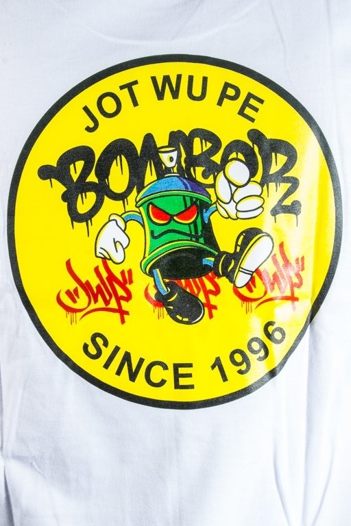JWP T-SHIRT UGLY WHITE
