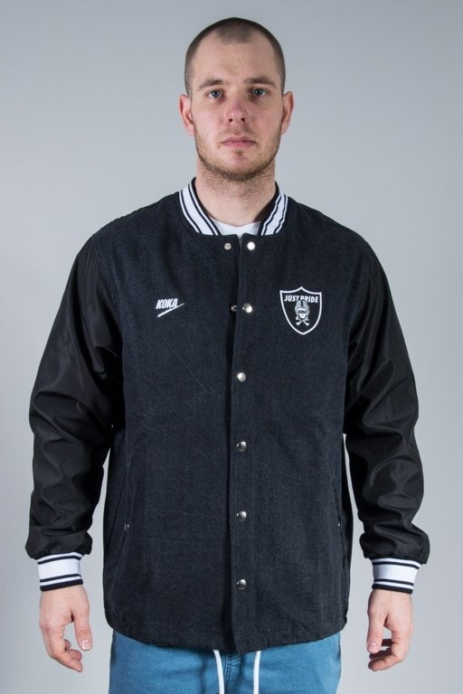 KOKA BASEBALL JACKET R.O.D. BLACK