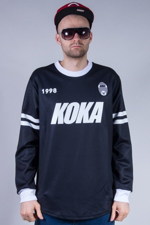 KOKA BLUZA BEZ KAPTURA 1998 MATCH BLACK