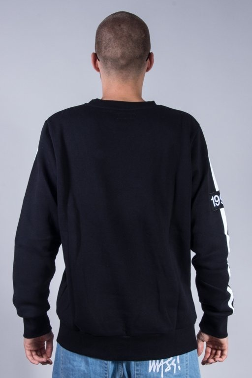 KOKA CREWNECK SUPPORTER BLACK