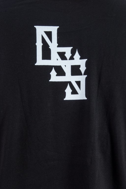 LABIRYNT T-SHIRT INHALE BLACK