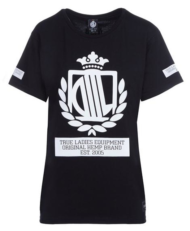 LADY DIIL T-SHIRT KLASYK BLACK