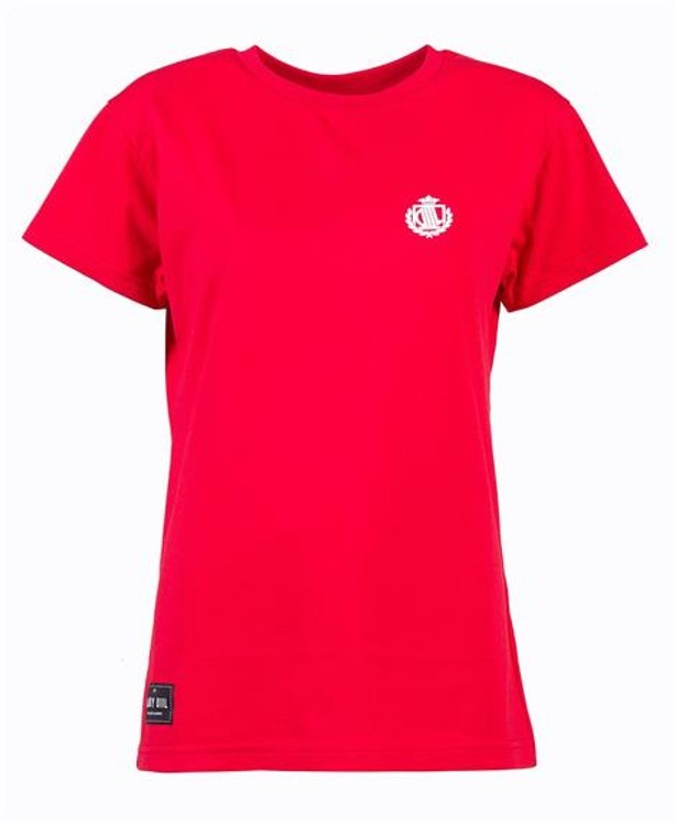 LADY DIIL T-SHIRT WOMAN LD LOGO RED