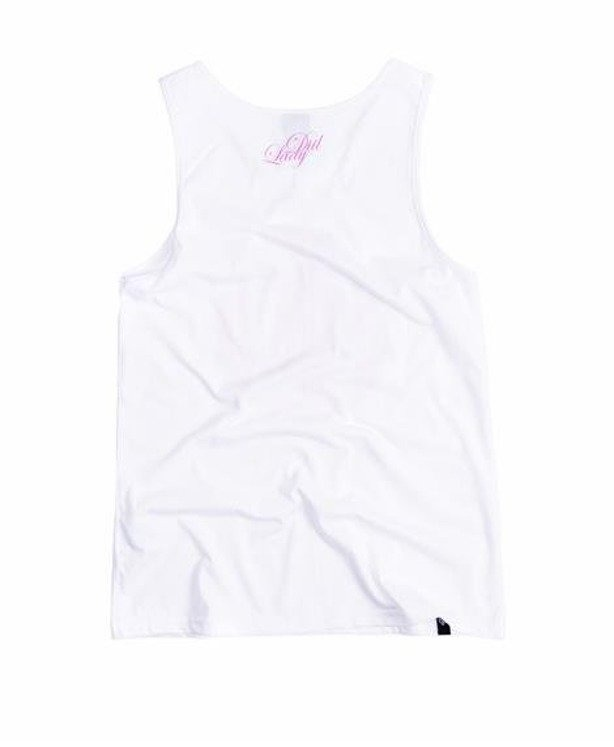 LADY DIIL TANK TOP LAUR WHITE-PINK