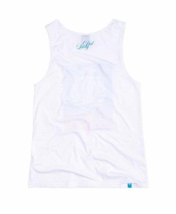 LADY DIIL TANK TOP TWO COLORS WHITE
