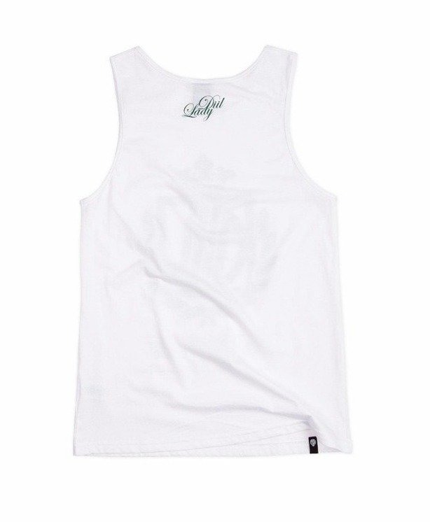 LADY DIIL TANK TOP WEED HARVARD WHITE
