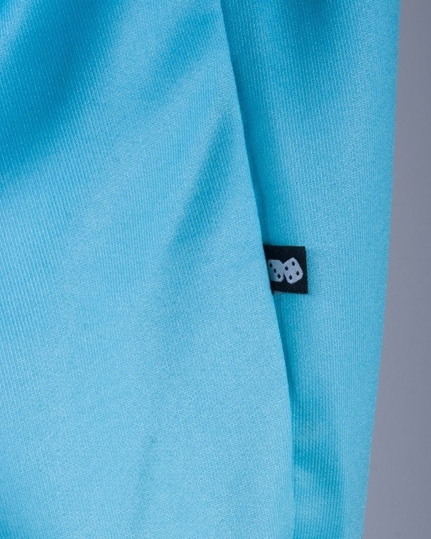 LUCKY DICE BLUZA BEZ KAPTURA SIMPLE TONAL BLUE