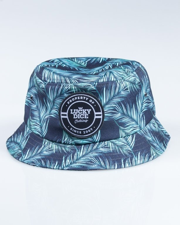 LUCKY DICE BUCKET HAT GREEN