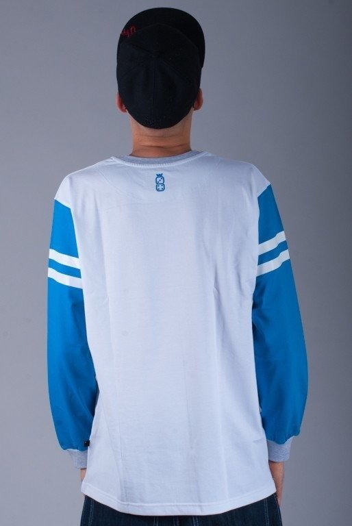LUCKY DICE LONGSLEEVE LD13 WHITE-BLUE