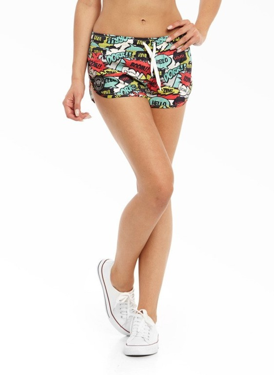 LUCKY DICE SHORTS SUMMER GIRL BOOM