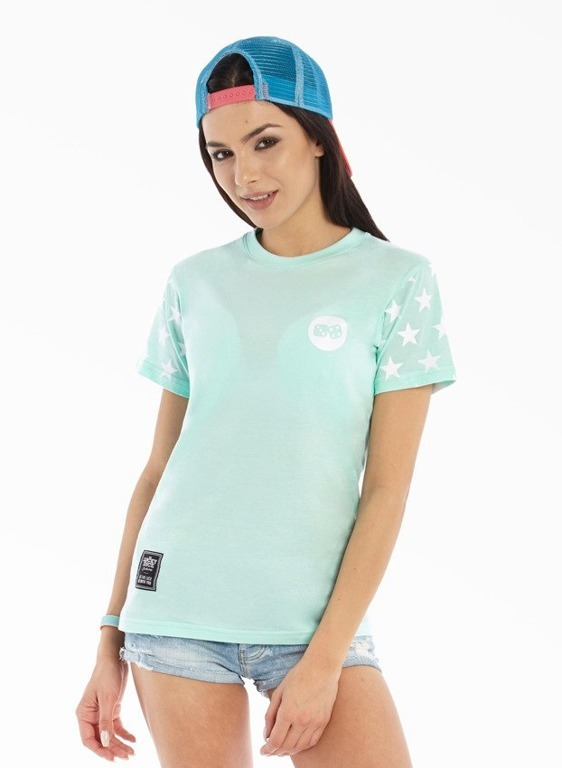 LUCKY DICE T-SHIRT GIRL STARS MINT