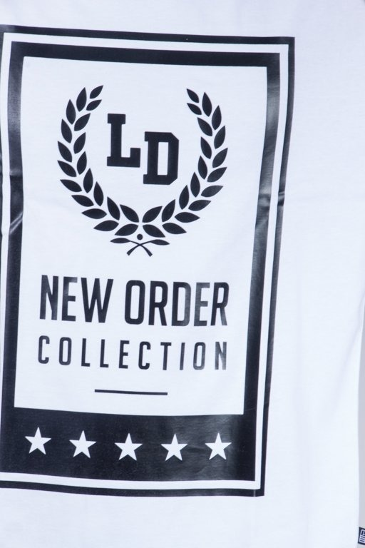 LUCKY DICE T-SHIRT NEW ORDER WHITE