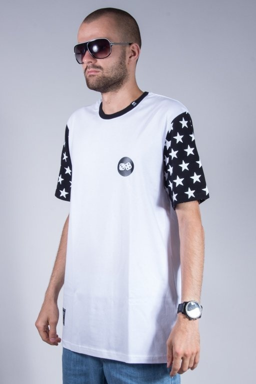LUCKY DICE T-SHIRT STAR WHITE