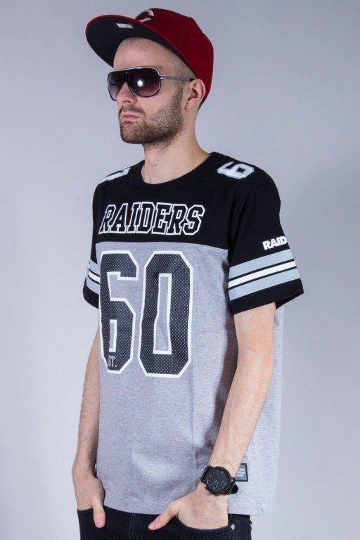 c00c4a4aa MAJESTIC KOSZULKA GRAPHER NFL BLACK-MELANGE KOSZULKI \ T-shirty ...
