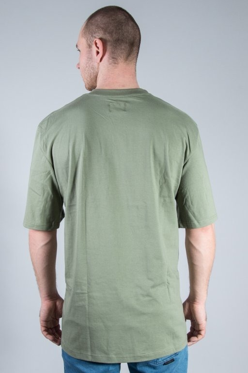 MAJORS T-SHIRT OVERSIZED OLIVE