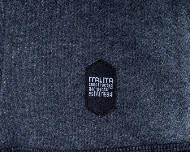 MALITA BLUZA BEZ KAPTURA SIMPLE GREY
