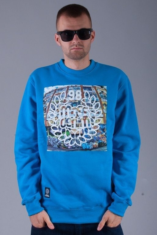 MASS BLUZA BEZ KAPTURA 5 POINTZ BLUE