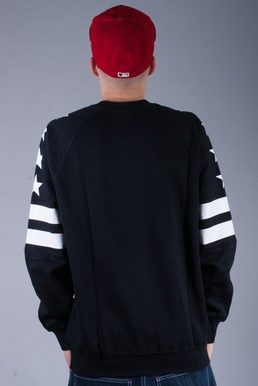 MASS BLUZA BEZ KAPTURA GENERAL BLACK