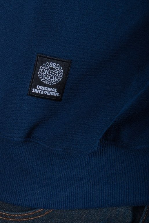 MASS BLUZA BEZ KAPTURA MOZAIC POCKET NAVY