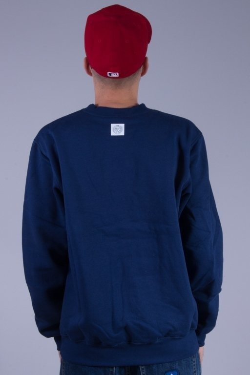 MASS BLUZA BEZ KAPTURA SIGNATURE NAVY