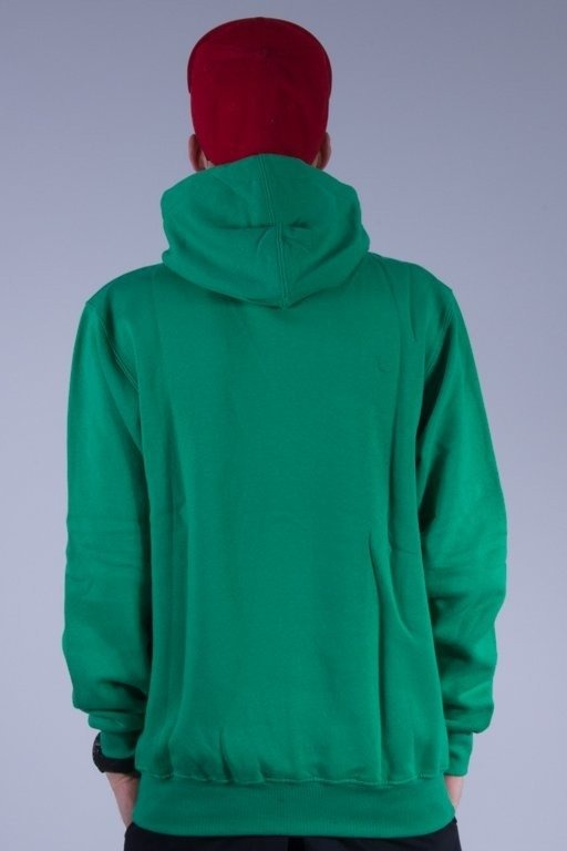 MASS BLUZA Z KAPTUREM LOST GREEN