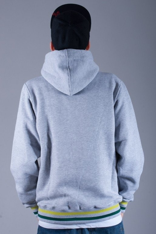 MASS BLUZA Z KAPTUREM SMOKE GREY