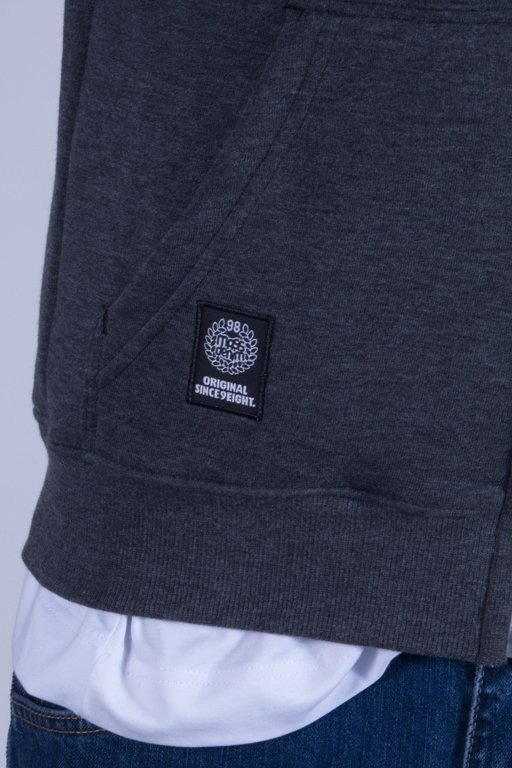MASS BLUZA Z KAPTUREM ZIP BASE FW14 GREY